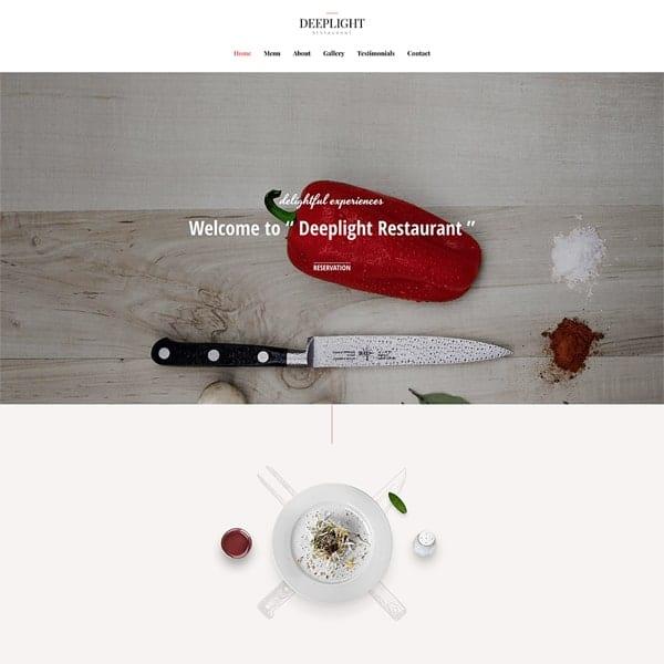 Restaurant-1-business-website