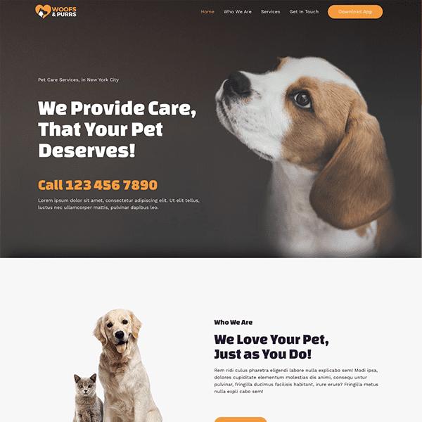 pet-care-2-business-website
