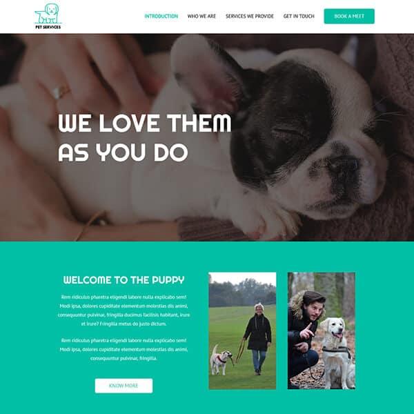 pet-services-business-website