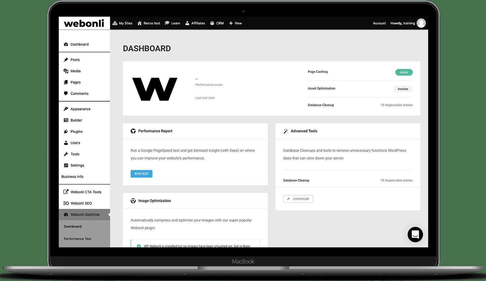 Webonli Optimize